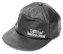 'Business Casual' Leder-Baseballkappe