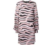 Kleid mit Wellen-Print