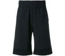 Shorts im Lagen-Look