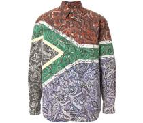 'South Africa' Hemd mit Print