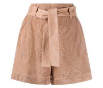 Perforierte Shorts