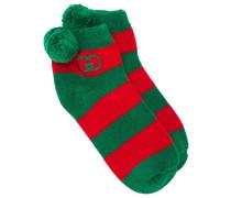 Gestreifte Socken mit GG