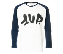 printed two-tone jumper