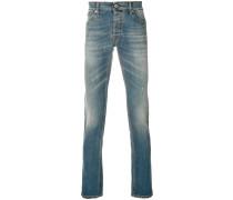 Klassische Distressed-Jeans