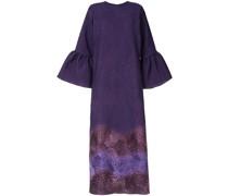 Kleid mit Farbverlauf-Print