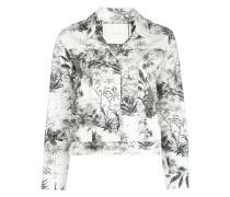 Jacke mit Tropical-Print