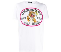 """T-Shirt mit """"Tiger Rider""""-Print"""