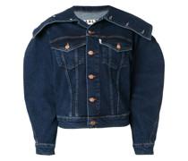 Strukturierte Jeansjacke