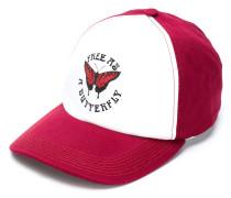 butterfly print baseball cap