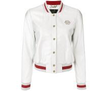 Ivory bomber jacket