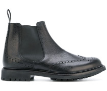Chelsea-Boots mit Budapesterdetail