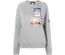 Sweatshirt mit langem Schnitt