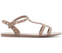 Rockstud studded PVC sandals