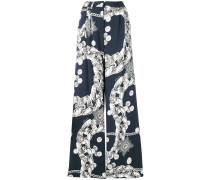 Chain Reaction print trousers