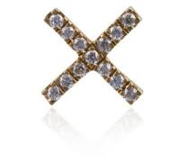 X-Anhänger mit Diamanten