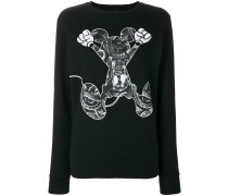 "Sweatshirt mit ""Mickey Mouse""-Print"