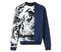 painted Medusa sweatshirt