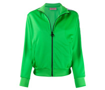 Logomania stripe track jacket
