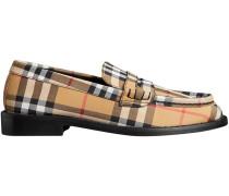 Loafer mit Karomuster