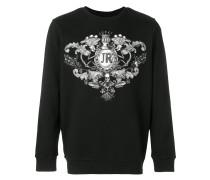 Sweatshirt mit Wappen-Print