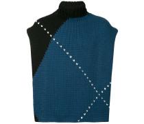 Pullover mit abnehmbarem Einsatz
