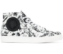 High-Tops-Sneakers mit Print
