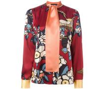 'Cherry Blossom' Seidenhemd