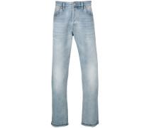 Tief sitzende Bootcut-Jeans