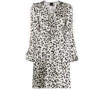 Midikleid mit Animal-Print