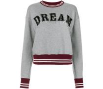 Pullover mit 'Dream'-Applikation