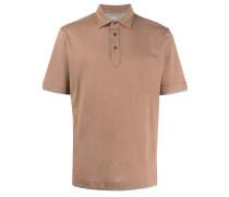 plain short-sleeved polo shirt