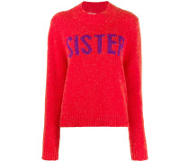 """Pullover mit """"Sister""""-Print"""