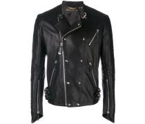 Antosha leather biker jacket