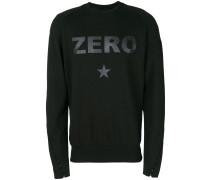 Zero slogan sweatshirt