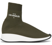 'Fly To Los Angeles' Sneakers in Sockenoptik