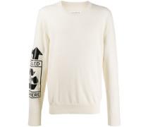 Sweatshirt mit Recycling-Logo