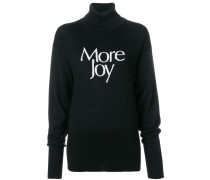 'More Joy' Pullover
