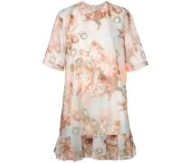 'Azure' Kleid mit Engel-Print