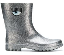 glitter eye logo boots