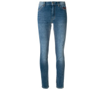 faded slim fit jeans
