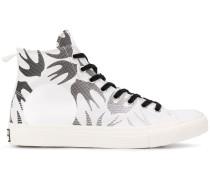 High-Top-Sneakers mit Schwalben