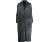 Mantel im Distressed-Look