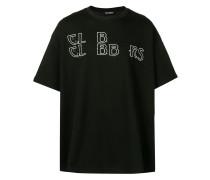 Leinen-T-Shirt im Oversized-Look