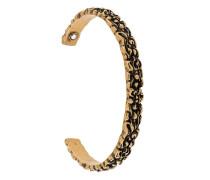 Armspange mit Löwenmähnen-Design