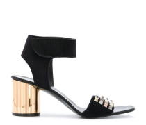 studded open toe sandals