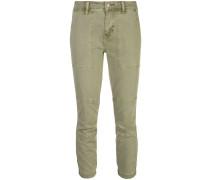 Skinny-Hose mit Schnürung