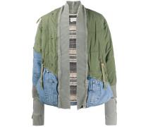 'Army' Jeansjacke im Kimono-Stil