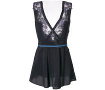 Camisole-Kleid mit Spitzeneinsätzen
