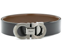 reversible Gancini belt