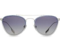 Pilotenbrille im Glitter-Look